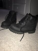 Boys Black Timberland Boots infant size 9