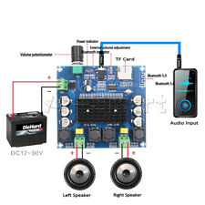 Stereo AMP Module XH-A105 Bluetooth 5.0 TDA7498 digital amplifier board 2x100W