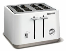Morphy Richards 240003 Aspect 4 Slice Toaster - White