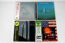 TANGERINE DREAM ~ JAPAN MINI LP CD LOT 4 ALBUMS, ORIGINAL, RARE, OOP