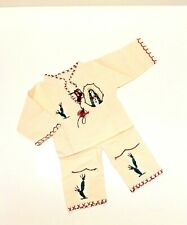 San Juan Diego Outfit Mexican Manta Boy Outfit Handmade Size 6-24 months
