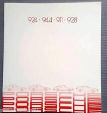 RARE PORSCHE 911 924 944 928 PORSCHE PROSPEKT 1980 50 JAHRE PORSCHE  WVK 121410
