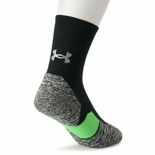Under Armour UA Run Cushion Running Crew Socks Size L (9-12.5)