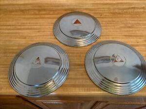 48-53 Hudson Hubcap Rim Wheel Cover  Hub Cap 12 3/4 OEM Good Used Set 3 Hubcaps