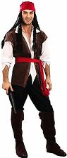 Adult Caribbean Pirate Men / Man Costume Party Halloween