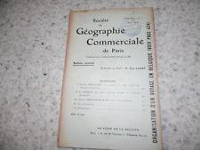 1910.Société géographie commerciale.Afrique occidentale..