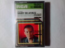 HARRY BELAFONTE Folk songs mc SIGILLATA