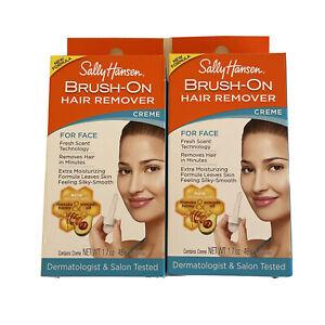 Sally Hansen, Hair Remover, Brush-On, Creme, Lot Of 2