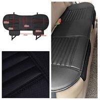 138*49cm PU Leather Bamboo Charcoal Car Rear Chair Cover Rear Seat Cushion Mat