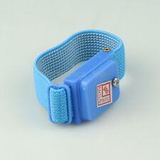 Anti Static Wireless Wrist Band Strap Bracelet Antistatic Blue