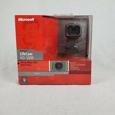 NEW MICROSOFT LIFECAM HD-5000 WEBCAM CAMERA 720P