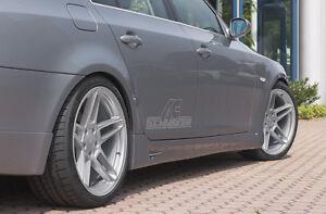Genuine AC Schnitzer side skirt set for BMW 5 series saloon E60 517160110