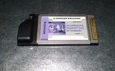 Conceptronic CSP100TCL Snapport cardbus network adapter