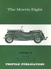 AUTOMOBILE PROFILE 52 THE MORRIS EIGHT VARIATIONS SPECIFICATION DRIVING POST-WAR
