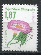 FRANCE TIMBRE   PREOBLITERE  N° 240  OBL    LISERON  FLORE