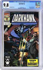 E111. DARKHAWK #1 Marvel CGC 9.8 NM/MT (1991) Origin & 1st App. of DARKHAWK