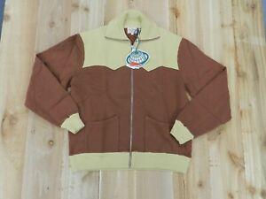 Levi's LVC 1950's Zip Fleece Sweatshirt NWT