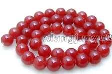 "SALE High quality Round  10mm Red jade gemstone beads strands 15""-los372"