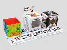 New Magic Ultra-smooth Professional Speed Transparent Cube Puzzle Twist Toy