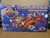 The Flintstones Movie Le Sabre Tooth 5000 Mattel 1993 Toy Car Boxed and Sealed