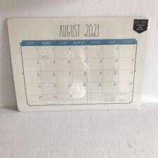 Rae Dunn Desk Calendar 2021 2022 Aug Dec Desk Pad 17 Month Large 19x14 Ivory