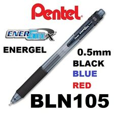 Pen EnerGel Retractable Pentel GEL Bln105 0.5mm Red(bx12)