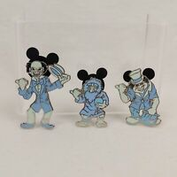 WDW Hidden Mickey Collection Haunted Mansion Ghosts Disney Pin 51046 49372 51412
