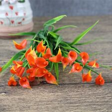 Plastic Outdoor Flower Fake false Plants Artificial Garden lily tulip winter