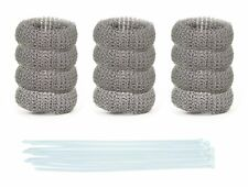 Pack of 50 Washing Machine Lint Traps Premium Snare and Rustproof Stainless
