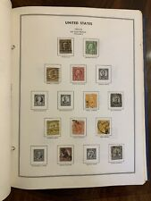Harris UNITED STATES 1847-1978 Liberty Stamp Album w/ **LOTS** of sheets/stamps!