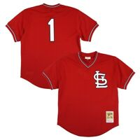 Ozzie Smith 1985 St. Louis Cardinals Mitchell & Ness MLB Batting Practice Jersey