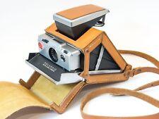 RARE Original Polaroid SX-70 Ever-Ready Folding Tan Leather Case SLR Film Camera