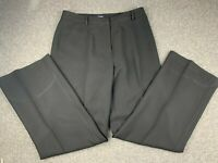 ANN TAYLOR WOMEN SIZE 10 ACETATE BLEND BLACK DRESS PROFESSIONAL PANTS EUC