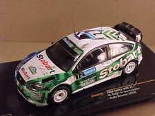 IXO #RAM316 1/43 Diecast Ford Focus WRC, 2008 Rally Sweden, Stobart Group, #7