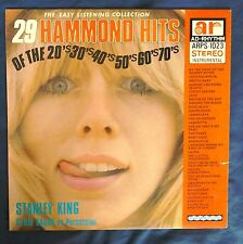 Stanley King 29 Hammond Hits AD-Rhythm ARPS-1023 lp