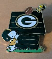 Green Bay Packers Snoopy Dog House Pin