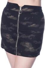 Falda mini con estampado nubes Partly cloudy skirt Banned SK2270