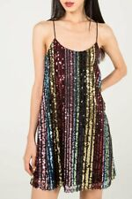 BNWT - Stripe Sequin Cami Dress - sparkly/glitter/Party dress
