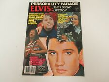 PERSONALITY PARADE MAGAZINE JULY 1981 GREAT COND ELVIS:THE LEGEND LIVES ON ISSUE