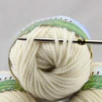 Sale 1 Ball 50g Soft Waem Chunky Thick Wool Hand Knitting Yarn White 248-201
