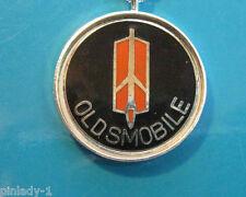"Oldsmobile Rocket logo - Necklace  GIFT BOXED sil. bezel 20"" chain"