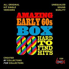New 3CD Set Amazing Early 60s Box 1960-1962 88 Tracks (All Listed) 25 CD Debuts