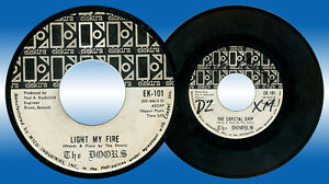 Philippines THE DOORS Light My Fire 45 rpm PROMO Record