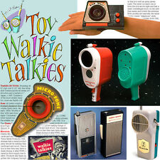 Vintage Walkie Talkies collector book: String Phones to Transistor Transceivers