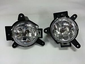 Genuine FRONT FOG LAMP LH&RH 1SET for CHEVY SPARK MATIZ 10~12 #96844210+