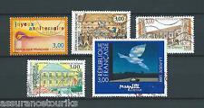 FRANCE - 1998 YT 3141 à 3145 - TIMBRES OBLITÉRÉS