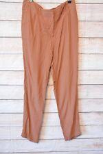 SUSSAN Pants Sz 12 Medium brown tan soft harem lounge pants