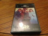 ABBA Greatest Hits Cassette 1976 Atlantic