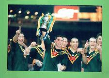 #D285. RUGBY LEAGUE PHOTO - AUSTRALIA WINS 1995 WORLD CUP
