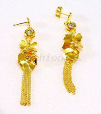 Chandelier Simulated Round Costume Earrings